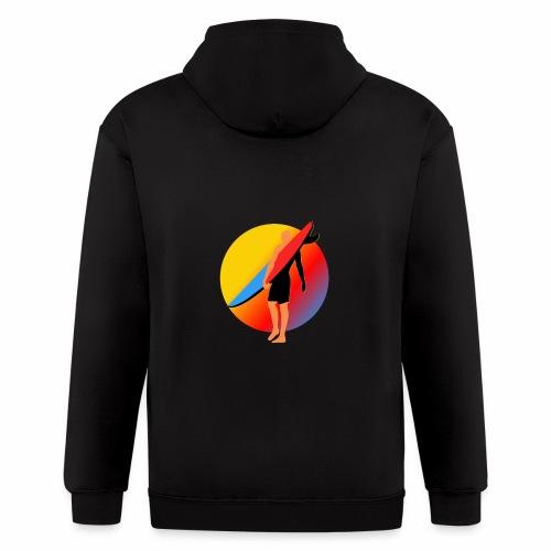 SURFER - Men's Zip Hoodie