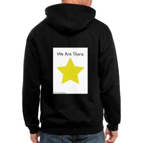 Hi I'm Ronald Seegers Collection-We Are Stars - Men's Zip Hoodie