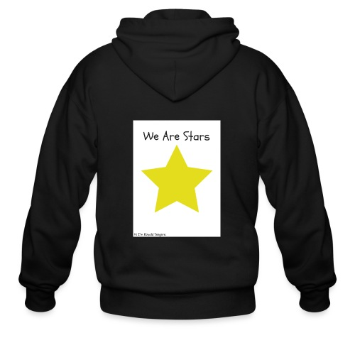 Hi I'm Ronald Seegers Collection-We Are Stars - Men's Zip Hoodie