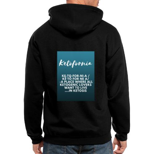 Ketofornia - Men's Zip Hoodie