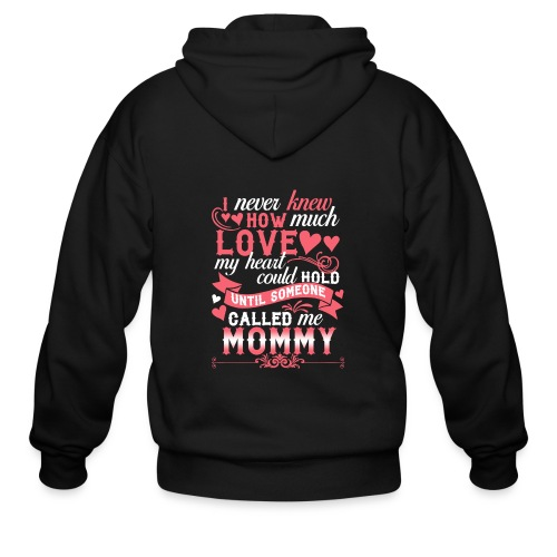 I Never Knew How Much Love My Heart Could Hold - Men's Zip Hoodie