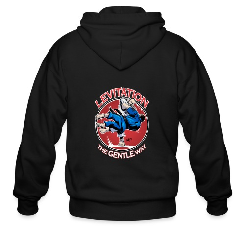 Judo Levitation for dark shirt - Men's Zip Hoodie