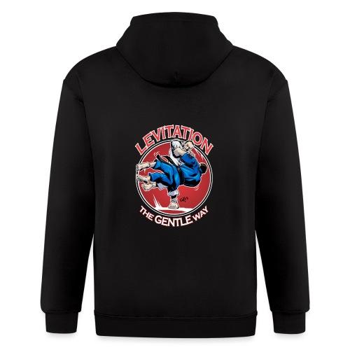 Judo Shirt - Levitation for dark shirt - Men's Zip Hoodie