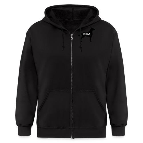 k9-1 Logo Large - Men's Zip Hoodie
