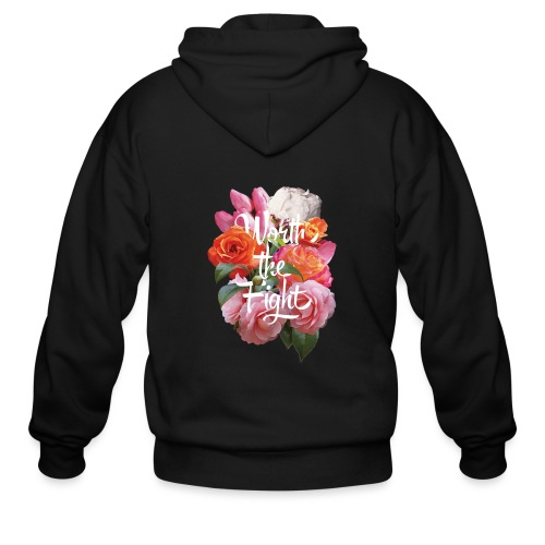 worth the fight - Men's Zip Hoodie
