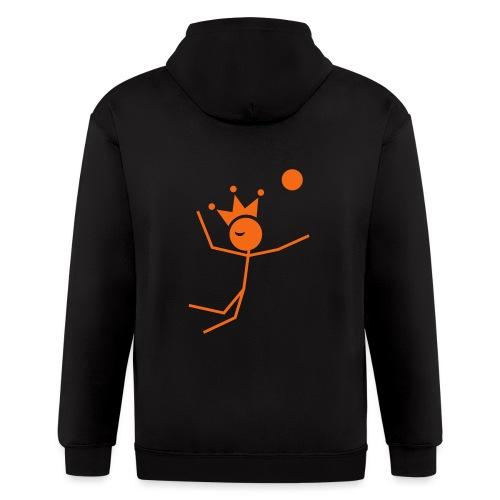 Volleyball King - Men's Zip Hoodie