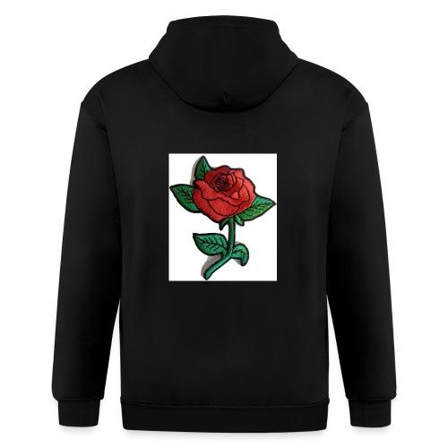 t-shirt roses clothing🌷 - Men's Zip Hoodie