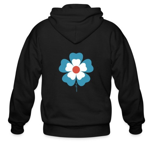 flower time - Men's Zip Hoodie