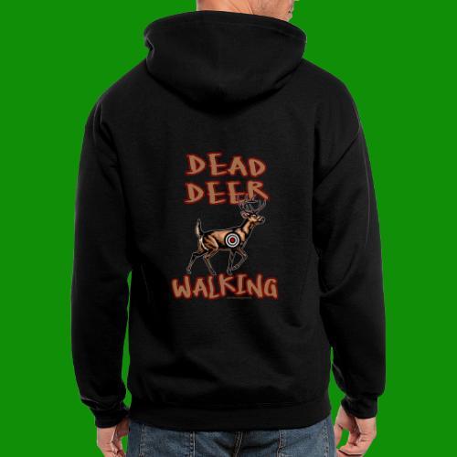 Dead Deer Walking - Men's Zip Hoodie