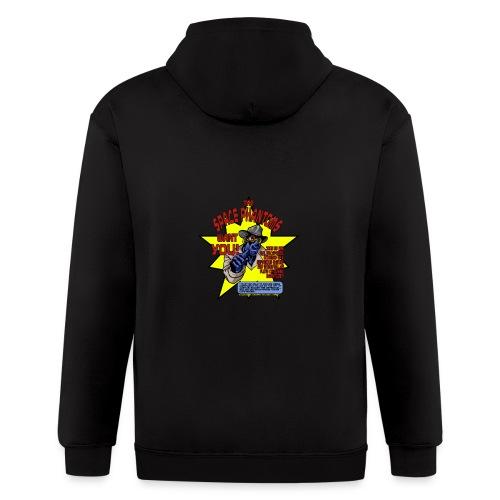 Space Phantom - Men's Zip Hoodie