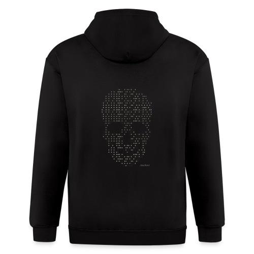 Hacker binary - Mens - Men's Zip Hoodie