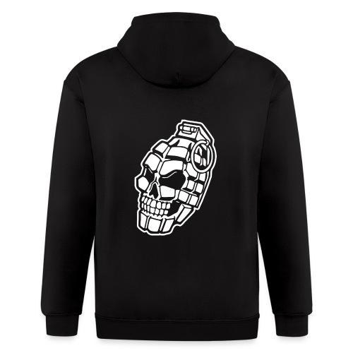 Skull Grenade - Men's Zip Hoodie