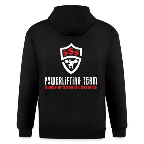 Powerlifting Team - Men's Zip Hoodie