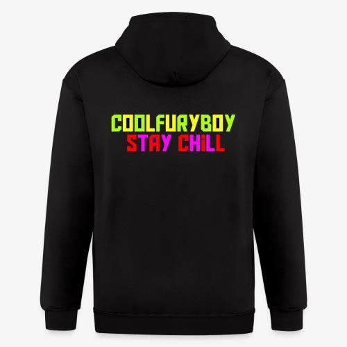 CoolFuryBoy - Men's Zip Hoodie
