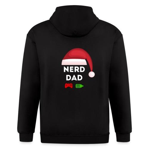 Nerd Dad Santa - Men's Zip Hoodie