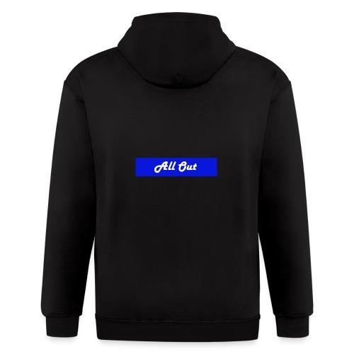 All out - Men's Zip Hoodie