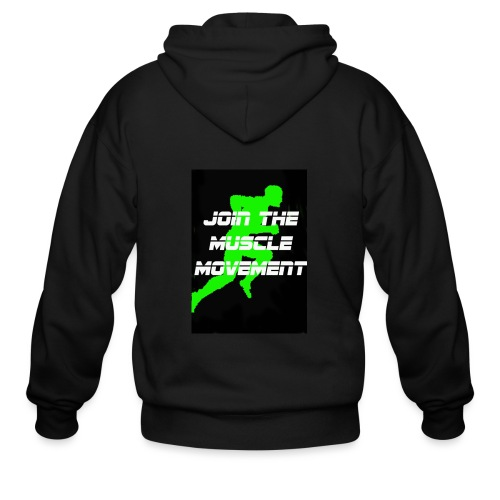 muscle movement - Men's Zip Hoodie