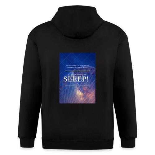 Sleep Galaxy by @lovesaccessories - Men's Zip Hoodie