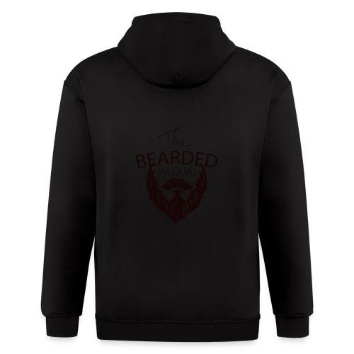 The bearded man - Men's Zip Hoodie