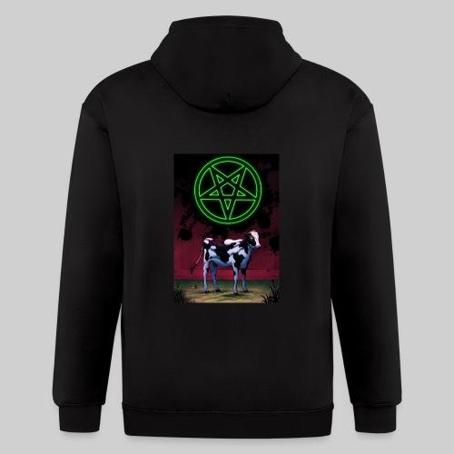 Satanic Cow - Men's Zip Hoodie
