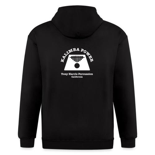 Kalimba Power Tony Harris Percussion w - Men's Zip Hoodie