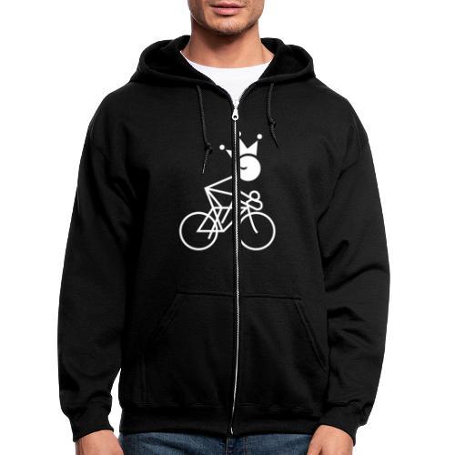 Winky Cycling King - Men's Zip Hoodie