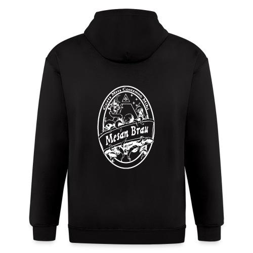 mesanbraucthsingle - Men's Zip Hoodie