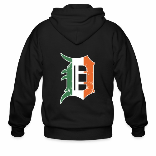 IRISH D - Men's Zip Hoodie