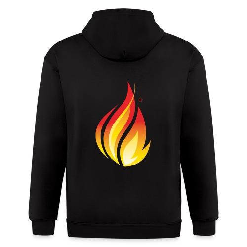 HL7 FHIR Flame Logo - Men's Zip Hoodie