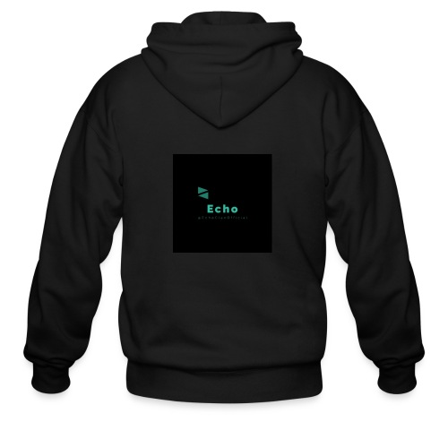 Echo Clan Offical Logo Merch - Men's Zip Hoodie