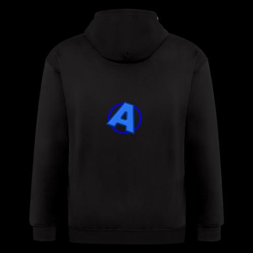 Awesomegamer Logo - Men's Zip Hoodie