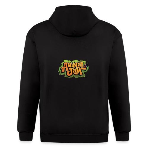 Animal Jam Shirt - Men's Zip Hoodie
