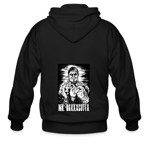 Mr. Boxxxcutta 1 - Men's Zip Hoodie