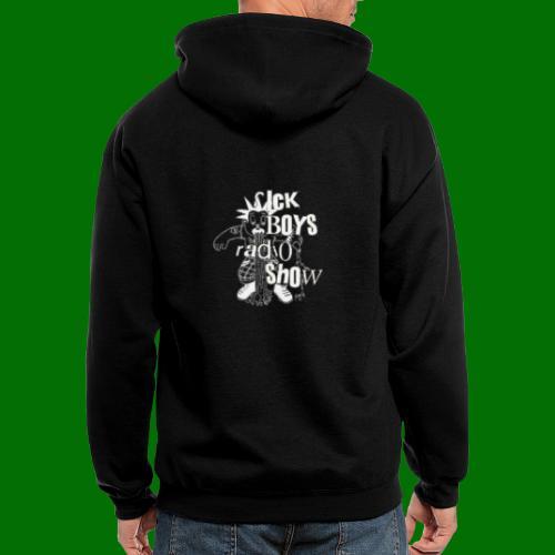 Sick Boys Puke Punk - Men's Zip Hoodie