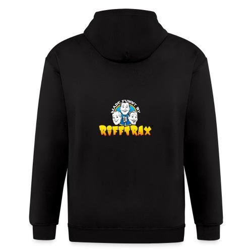 RiffTrax Made Funny By Shirt - Men's Zip Hoodie