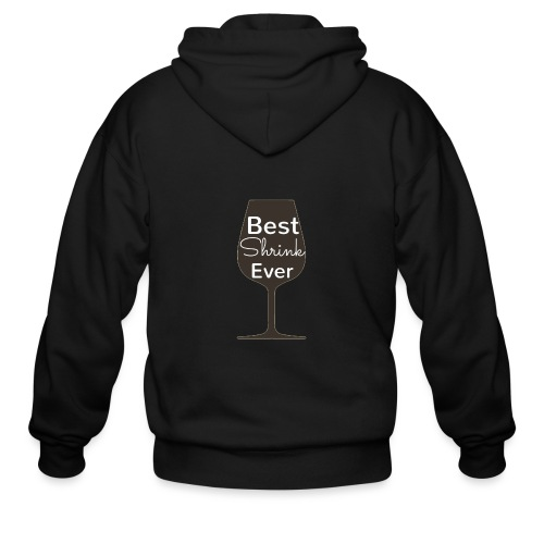 Alcohol Shrink Is The Best Shrink - Men's Zip Hoodie