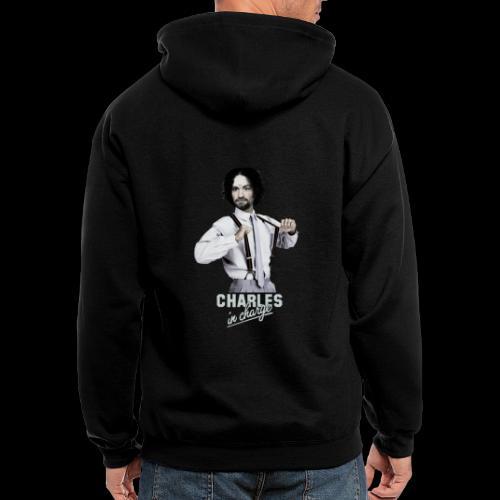 CHARLEY IN CHARGE - Men's Zip Hoodie