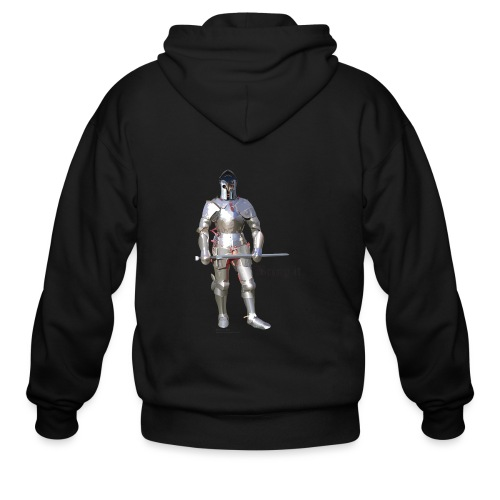 Plate Armor Bring it men's standard T - Men's Zip Hoodie
