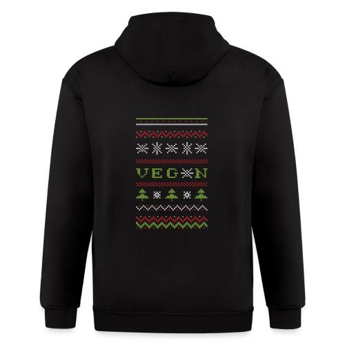 Veg*n Ugly Sweater Women's Wideneck Sweatshirt - Men's Zip Hoodie
