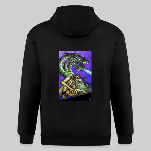 Hydra and Demon - Men's Zip Hoodie