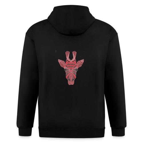 Giraffe Head - Men's Zip Hoodie