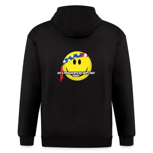 Happy Face USA - Men's Zip Hoodie