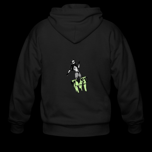 MYSE Clothing - badass babe - Men's Zip Hoodie