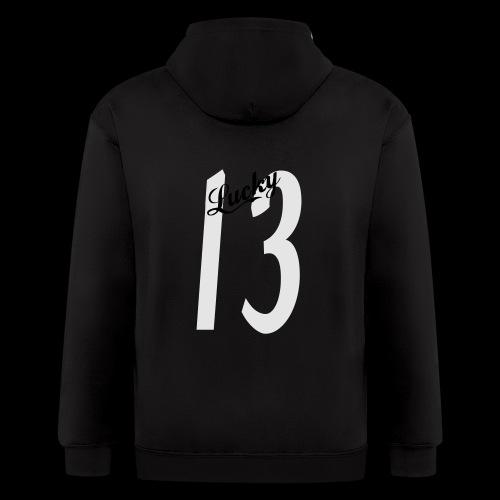 Lucky Thirteen - Men's Zip Hoodie