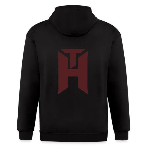 The Hybrids Logo - Men's Zip Hoodie