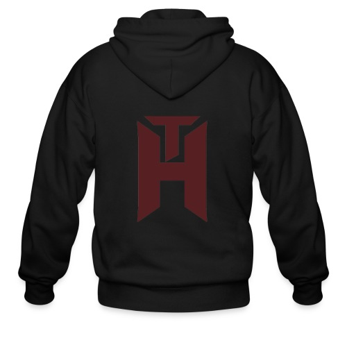The Hybrids Logo - Men's Zip Hoodie
