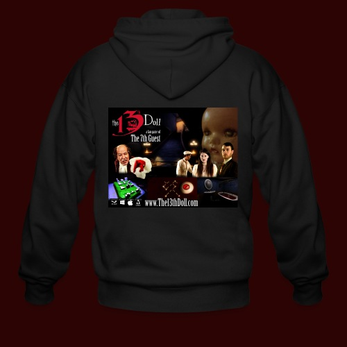 The 13th Doll Cast and Puzzles - Men's Zip Hoodie