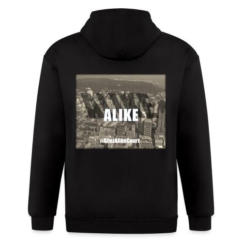 Alike City - Men's Zip Hoodie