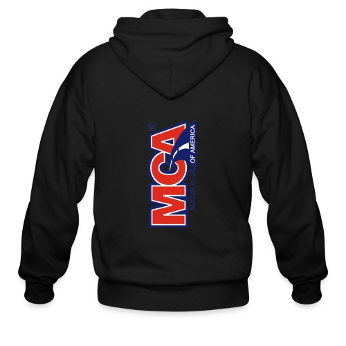 MCA Logo Iphone png - Men's Zip Hoodie