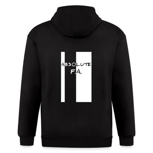 Absolute F(xxx) A(LL) - Men's Zip Hoodie